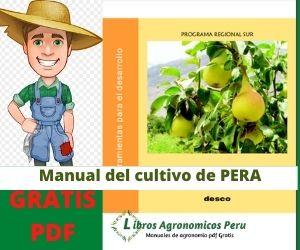 Manual del Cultivo de Pera